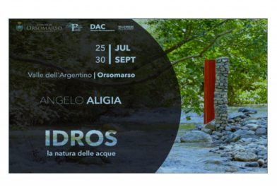ANGELO ALIGIA IDROS la natura dell'acqua ORSOMARSO