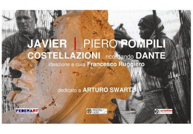 JAVIER | POMPILI Costellazioni ricordando Dante dedicato a Arturo Schwarz